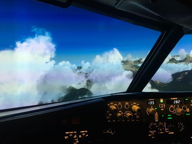 Simulateur Flight-Sensations
