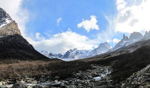 Torres del Paine: trek du W. Jour 3: en direction du Mirador Britanico