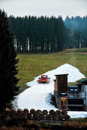 Winterberg vseverním Německu použil produkt jedné jednotky Snowfactory na zasněžování své sjezdovky už loni– jedná se ovšem osjezdovku dost jiných proporcí, než má Monínec.