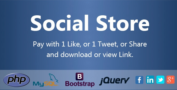 Social Store – Pay with Action in Social Network