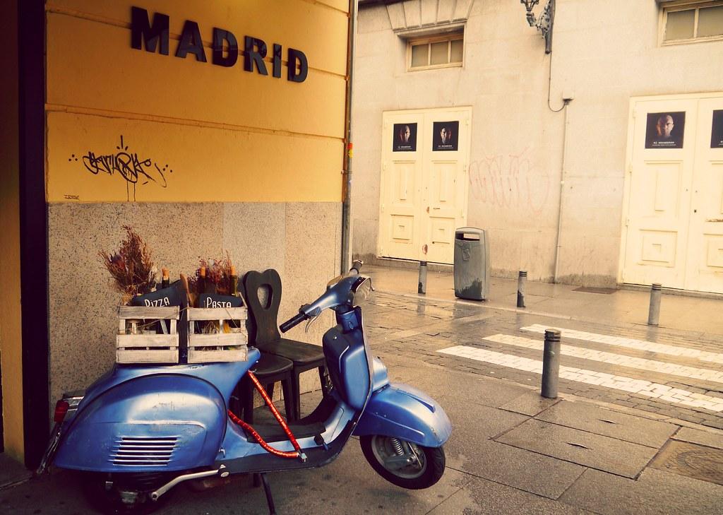 Madrid and Vespa