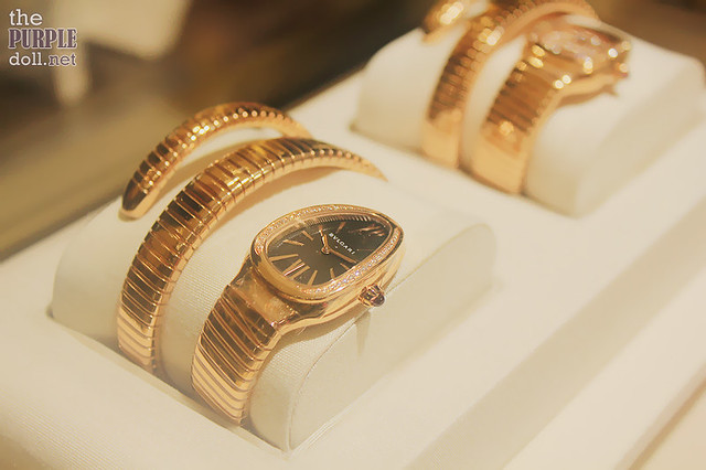 Oh-so-beautiful Bvlgari watch