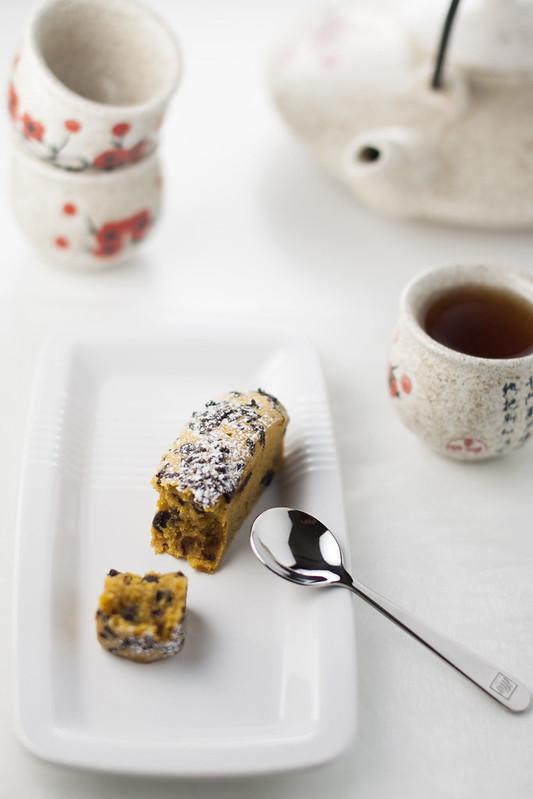 Cake speziati con zucca e cioccolato
