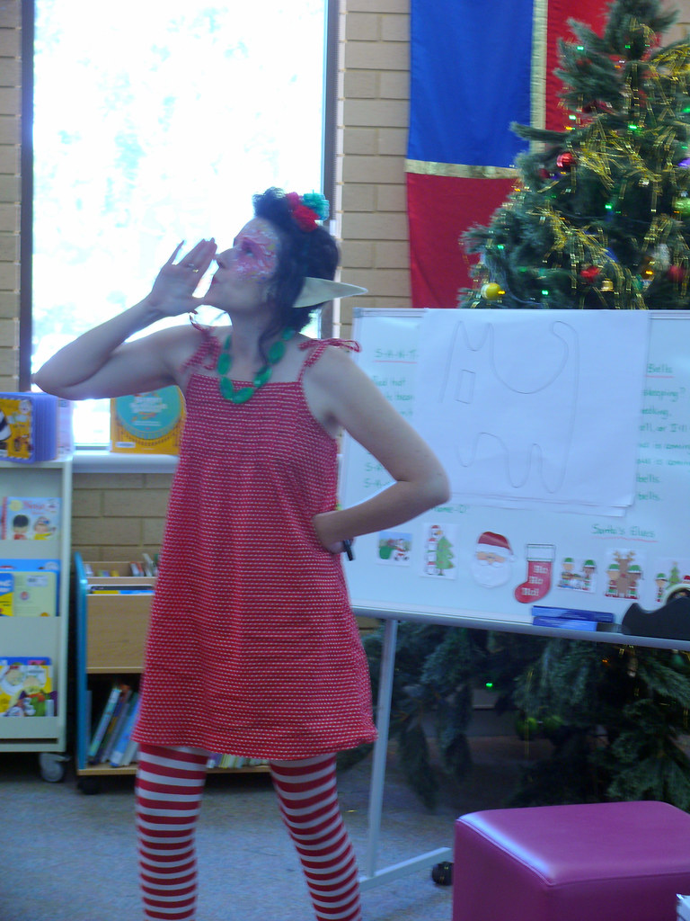 Christmas Elf storytime at Spearwood Library