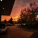 10/29 gas station sunset