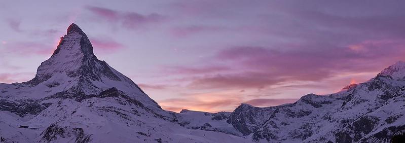 Matterhorn at Sunset - Zermatt