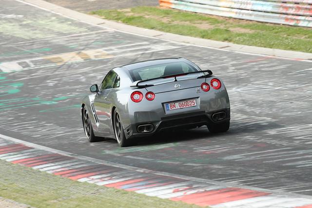 Nissan GT-R SpecV test mule 2