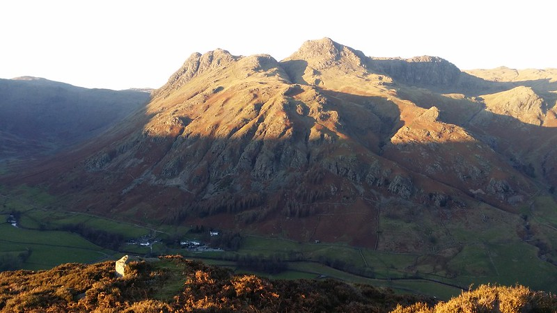 Langdale Pikes from Side Pike #sh