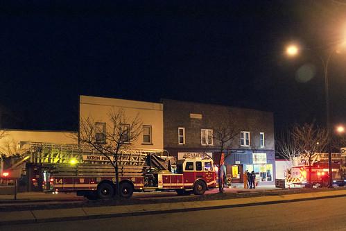 Kenmore Blvd Fire