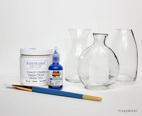 Hi Sugarplum | DIY Squiggle Art Vase