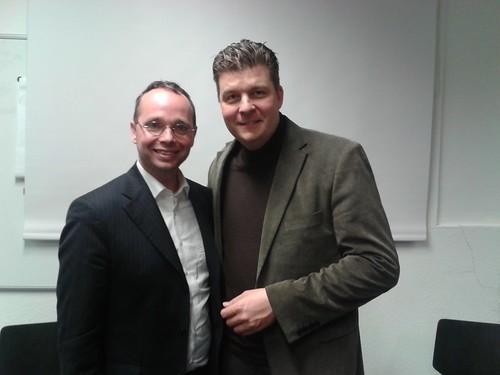 Sören Schumacher trifft Andreas Dressel - 8. Dezember 2014