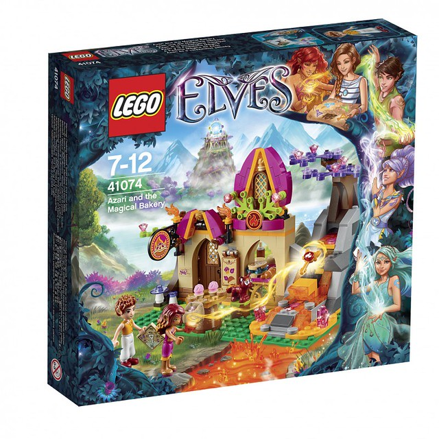 LEGO Elves 41074 - Azari and the Magical Bakery