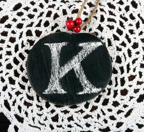 Chalkboard Ornament | shirley shirley bo birley Blog