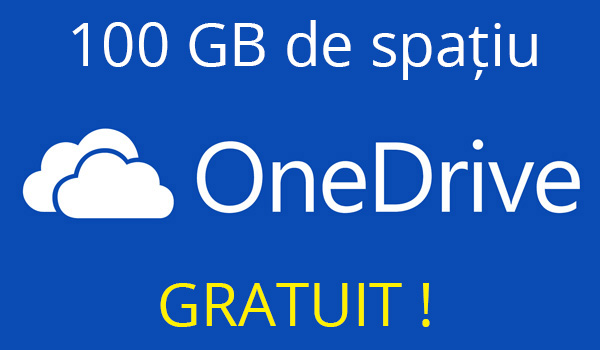 Microsoft one drive 100gb gratuit