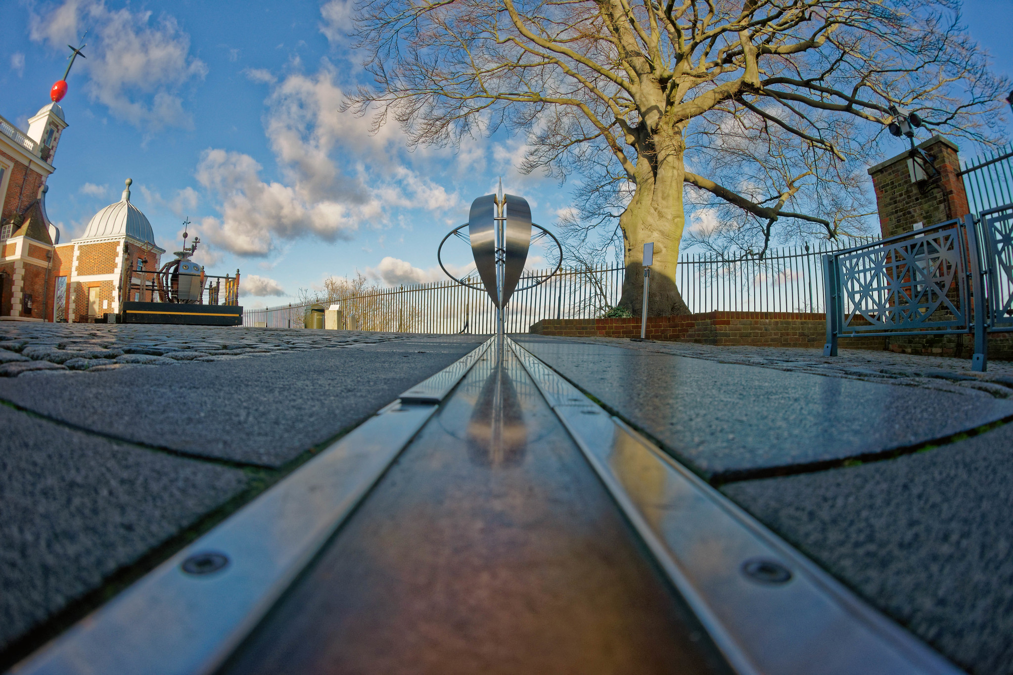 Prime Meridian in Greenwich