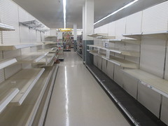 Empty Housewares Aisle