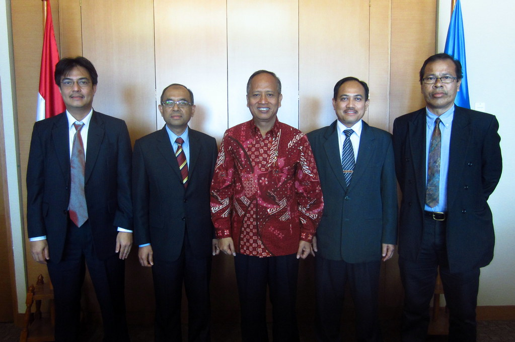 Visit Minister of Research, Technology and Higher Education, Indonesia
