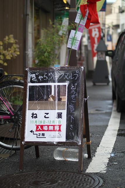 Nikon 1 V1 + 1 NIKKOR 32mm f1.2 谷中・千駄木 2014年11月29日