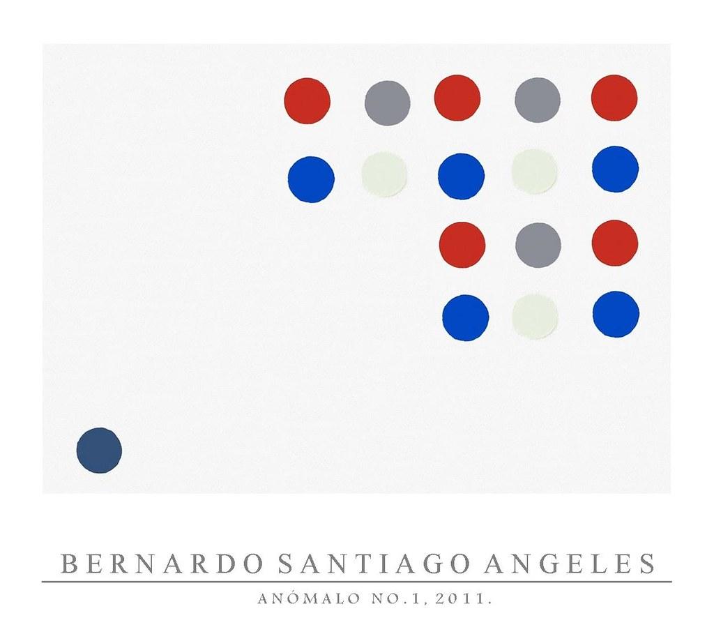 Bernardo Santiago Angeles Anómalo, No.1, 2011 Óleo sobre tela, cm 130 x 167, Colección M.S. © Archivo Fotográfico Santiago. COPYRIGHT  2014: Santiago.