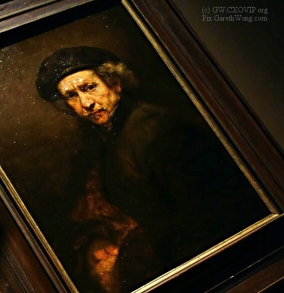 Rembrandt van Rijn Self portrait 1659 (LOW RES) RAW _DSC4858 MustVisit @NationalGallery Exhibition in London!