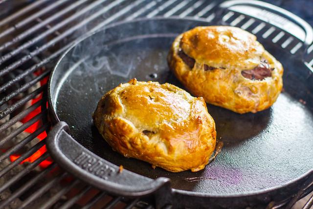 Grilled Beef Wellington