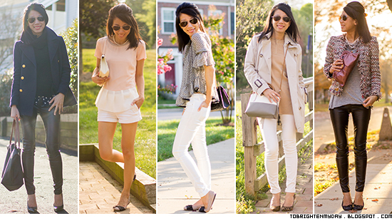 Favorite outfits of 2014