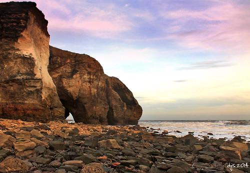 coast shore northsea coastline seaham blastbeach countydurham nosespoint northeastengland