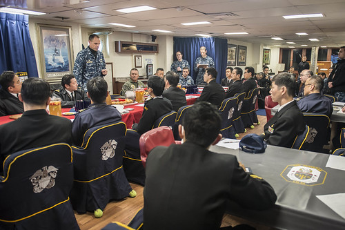 Navy, JMSDF Train Together to Improve Regional Security