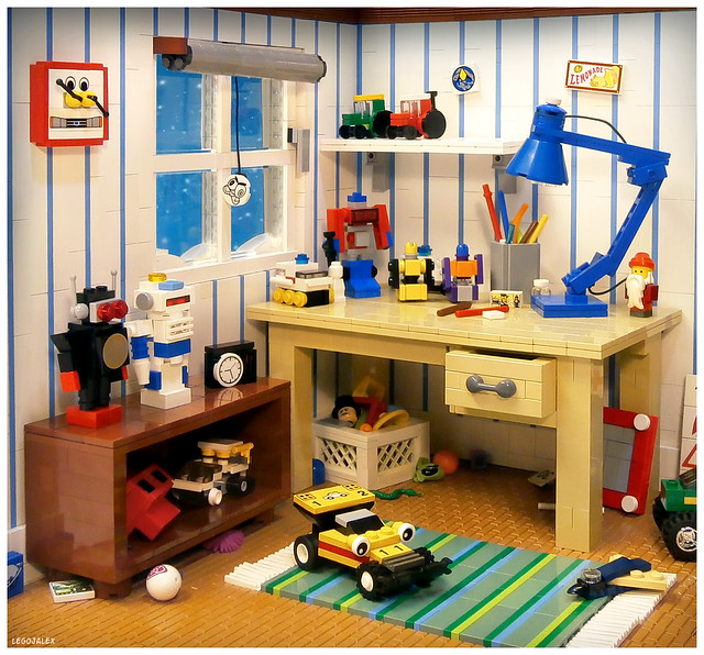 Kids' room from the 80s