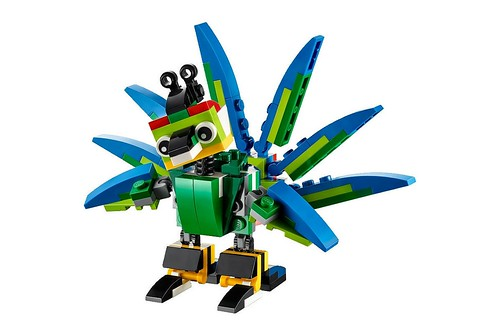 LEGO Creator 31031 Rainforest Animals 40