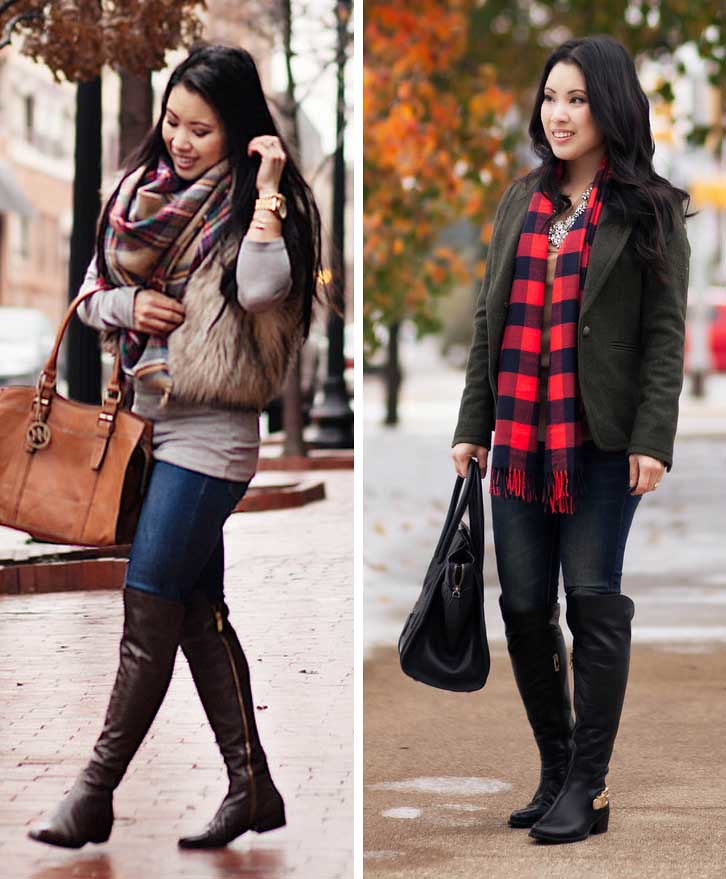 cute & little blog | petite fashion | fall winter otk boots