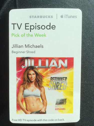 Starbucks iTunes Pick of the Week - Jillian Michaels - Beginner Shred