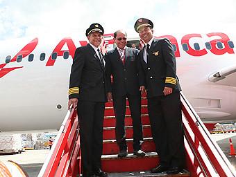 Avianca B787 pilotos (Avianca)