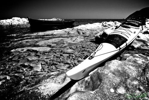 Vivere il mare col kayak