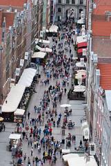 Gdansk pedestrian walkway