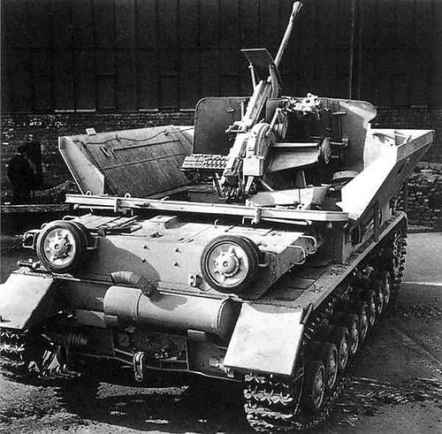 Flak panzerkampfwagen IV bútor kosár