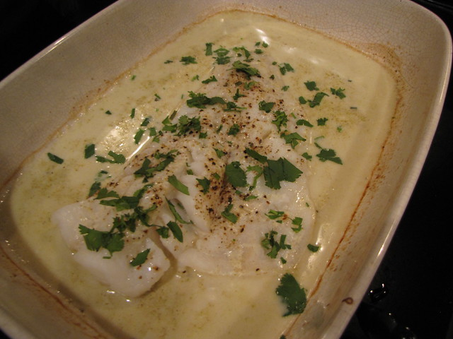Coconut Curry Baked Cod