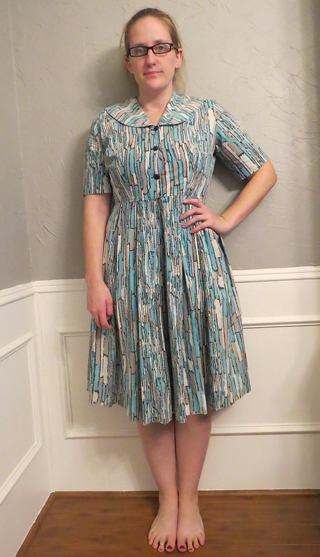 Vintage Dress Revival - Before