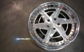 K3 Projekt Wheels IND-SB6 | FOrged 3 Piece Wheels