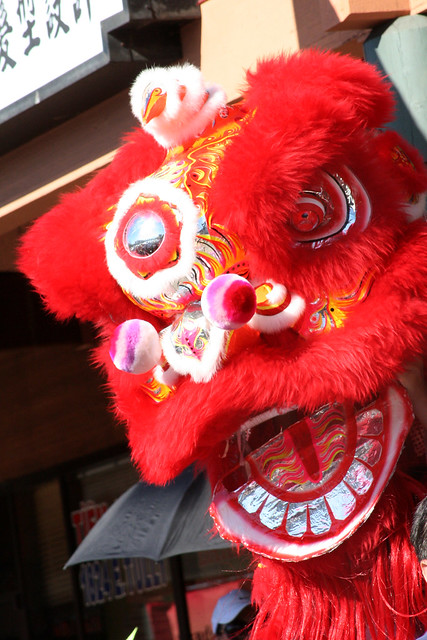 Chinese Red Lion