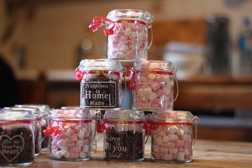 Souvent DIY} Des kits de chocolat chaud à offrir | Knit Spirit RP35