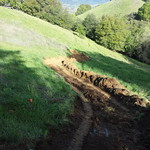 Hill Side Walkway Excavation In Vacaville CA 2