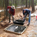 Sun, 12/23/2012 - 02:22 - Volunteers building pad for fountain at Pittard Sears--December 2012
