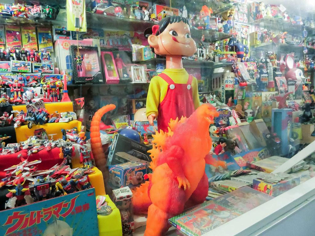 昭和のおもちゃ屋さんみたい