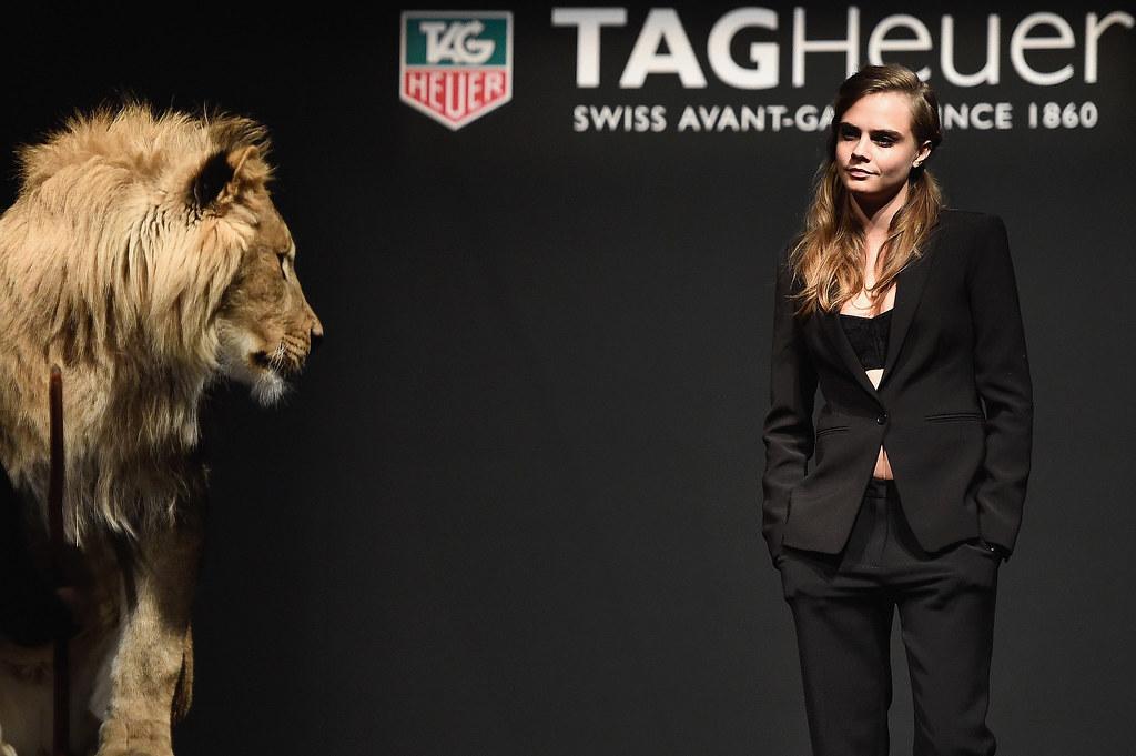 TAG Heur appoints Cara Delevingne as new feminine ambassador - Alvinology