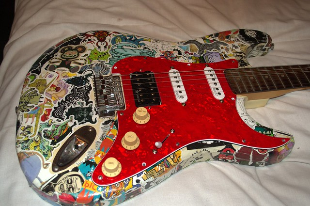 Modded/Upgraded crappy Encore Vintage Strat  - theFretBoard