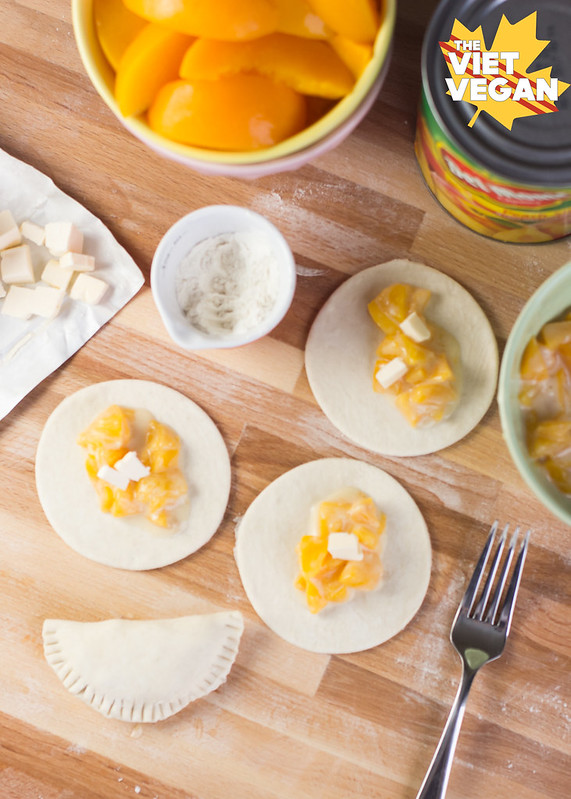 California Canned Cling Peach Hand Pies