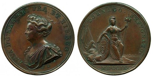 Medal Anne, Capture of Tournay, 1709