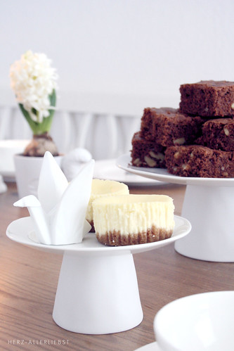 Brownies and Cheesecake