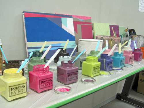 Porter's Paints manufactures and sells architectural and decorative paints